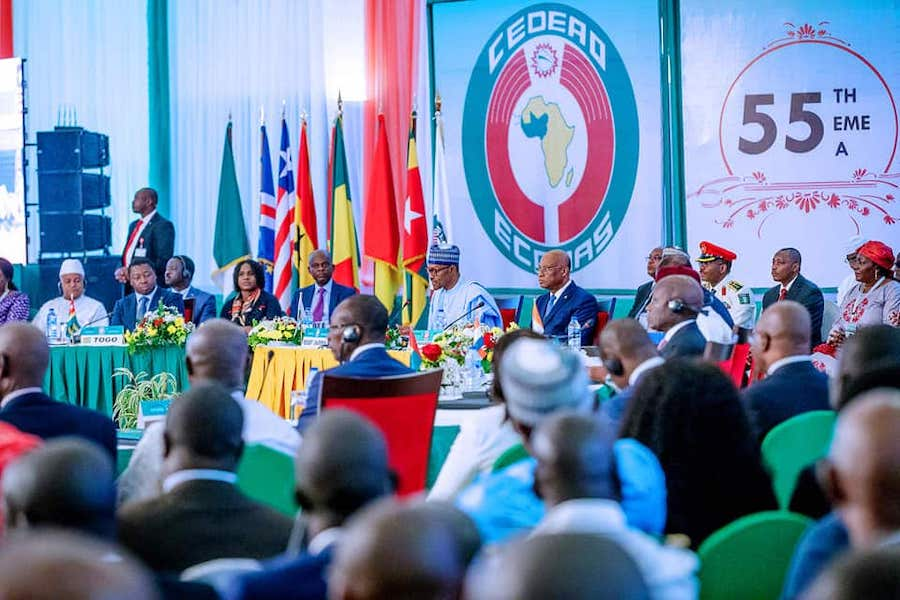55th Summit of the Authority of Heads of State and Government of ECOWAS