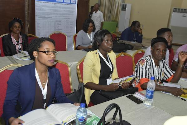 DRASA's Managing Director Niniola Williams and Program Associate Ayomikun Fatoki at the pre-conference workshop