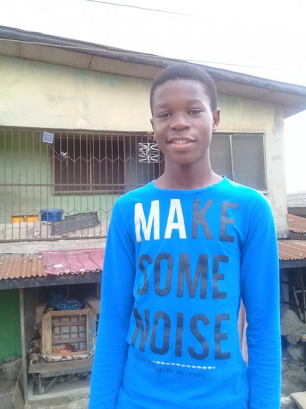 DRASA Youth Ambassador Daniel Nnam
