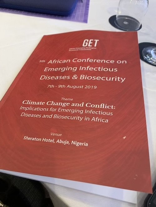 How does Climate Change Affect Infectious Diseases? GET Consortium's 5th Conference