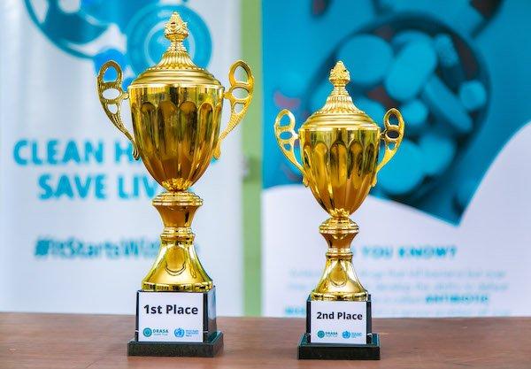 DRASA's Got Talent 2019 trophies