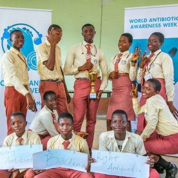 DRASA Ambassadors from the winning school