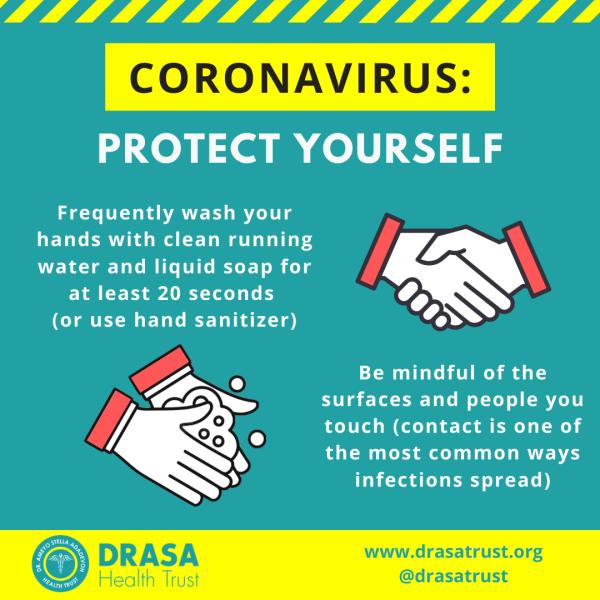 Coronavirus Advisory 1