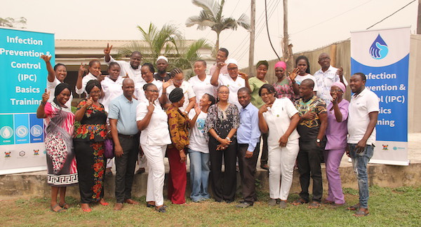 Mainland Hospital Yaba IPC Trainees