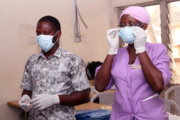 Mainland Hospital Yaba IPC Training February 2020