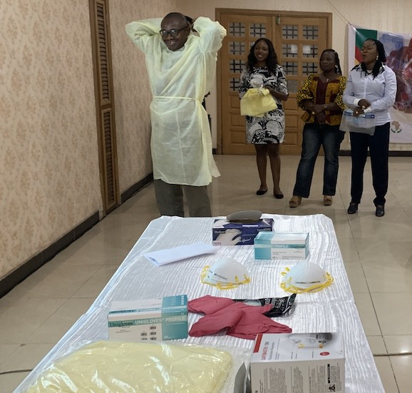 Building capacity to contain COVID-19 in Lagos