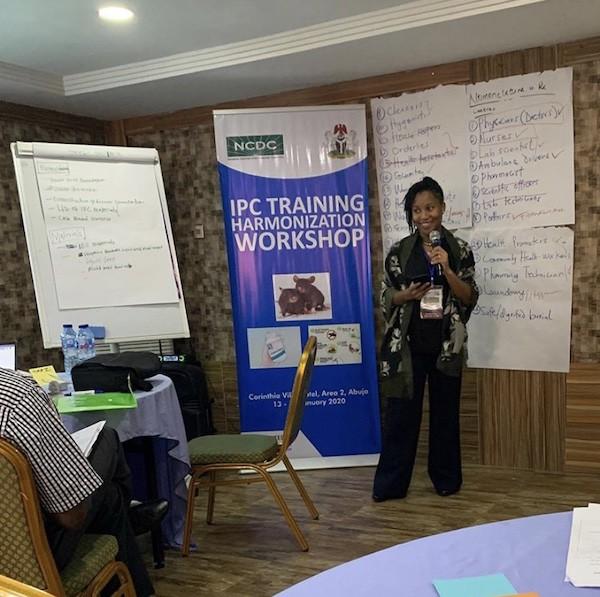 Niniola Williams, Managing Director, DRASA During the Harmonisation Workshop