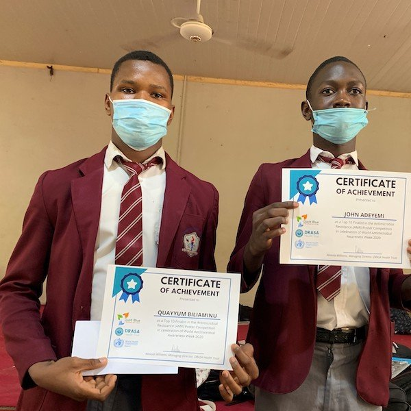 Participants in the Student Competition: World Antimicrobial Awareness Week 2020