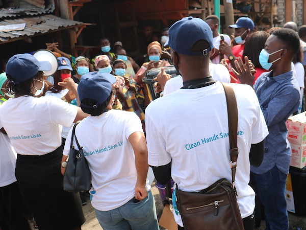 Outreach for Global Handwashing Day 2020