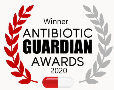 We Won an Antibiotic Guardian Award