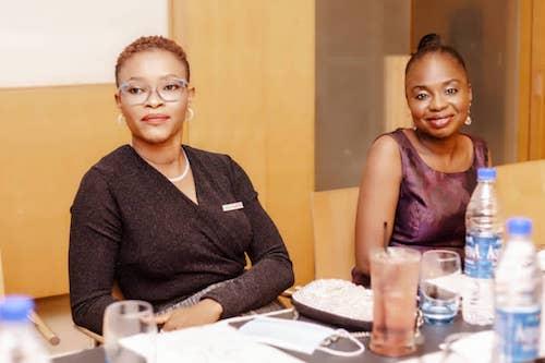 Funke Ijayekunle (Heartminders Initiative) and Dolapo Osuntuyi (Dolly Children Foundation)