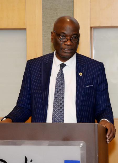 Professor Oluwatoyin Ogundipe, Vice-Chancellor of the University of Lagos